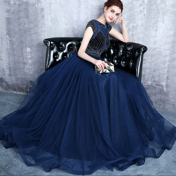 2019 New Designer Plus Size Navy Blue Mother Dresses Lace Up Back Floor  Length Beaded Formal Evening Mother Of The Bride Groom Dresses Burgundy  Mother ...