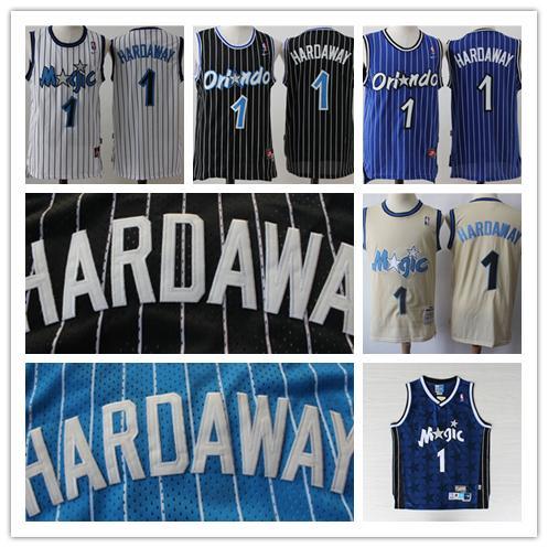 huge selection of 79910 c89ae 2018 Mitchell & Ness Retro Mens 1 Penny Hardaway Magic Basketball Jerseys  Stitched Hardwood Classic Mesh Magic Hardaway Retro Basketball Jersey From  ...