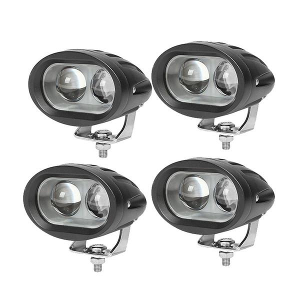 20w 12v24v Car fog light LED Motorcycle truck White Spot light Lamp Offroad driving Spotlights headlights Led work 4x4 light