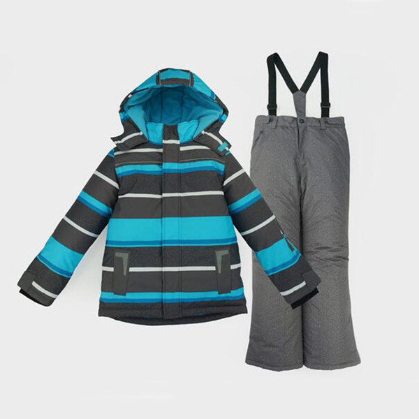 Honeyking Boys Ski Jacket Children Waterproof Windproof Kids Ski Set Winter Warm Snowboard Outdoor Suit Boys Costume Set