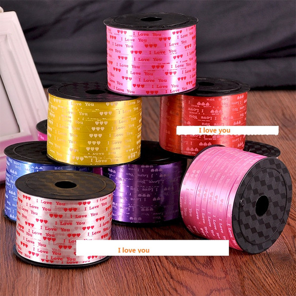 10pcs 90yards 5mm Special DIY Balloon Ribbon Wedding Decor Wholesale gift packing Christmas ribbons wholesale Free shipping