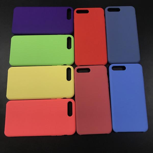 2018 Hot Selling Slim Liquid Silicone Phone Case For iPhone 5 5SE 6 6S Plus 7 8 Plus X Samsung S9 S9 Plus S8 Note 8 Cases
