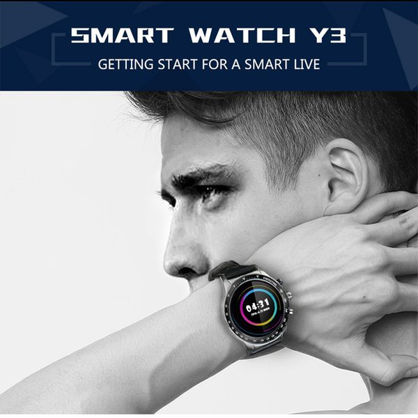 Android 5.1 Smart Watch, Quad Core 3G WIFI& GPS 512MB+ 4GB Sports Wristwatch, Supports Heart Rate Monitor/ Pedomete