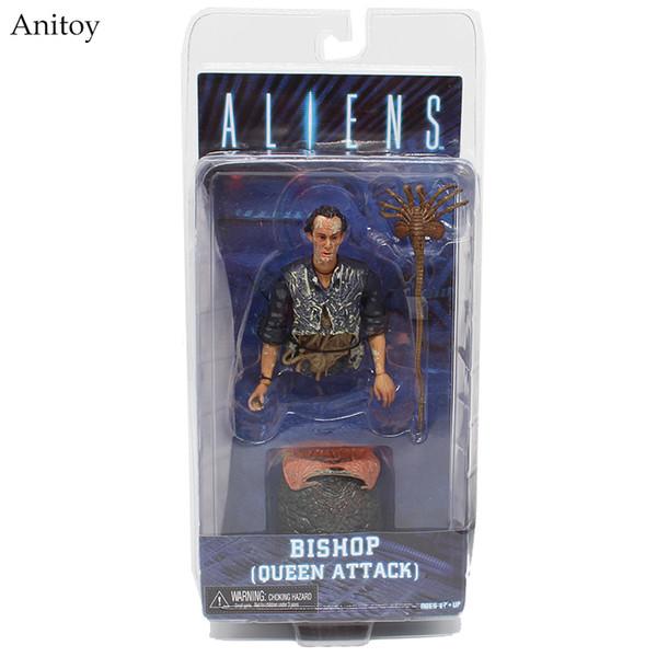 Toys Hobbies Action Toy Figures Aliens Series Alien Queen Bishop Queen Attack PVC Figure Collectible Model Toy 9cm KT4003