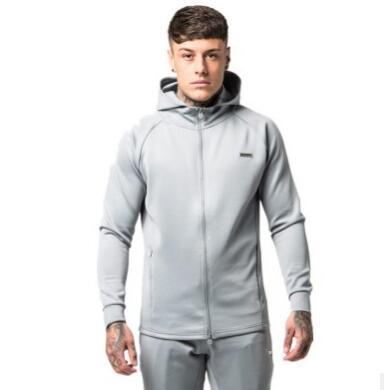 gray hoody