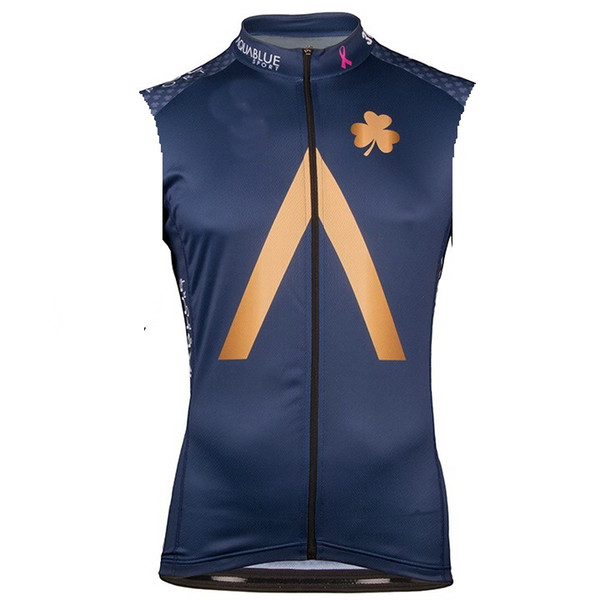 2018 AQUA BLUE PRO TEAM ONLY SUMMER SPRING SHORT SLEEVELESS VEST CYCLING JERSEY CYCLING WEAR SIZE:XS-4XL S06