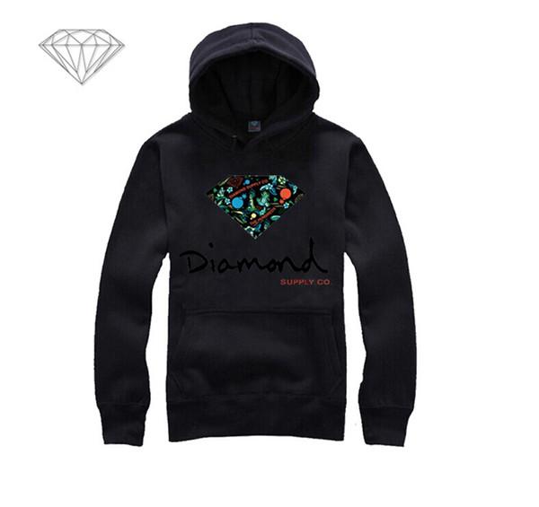 Diamond Supply hoodie for men free shipping diamonds hoodies hip hop brand new 2018 sweatshirt men's clothes pullover M19
