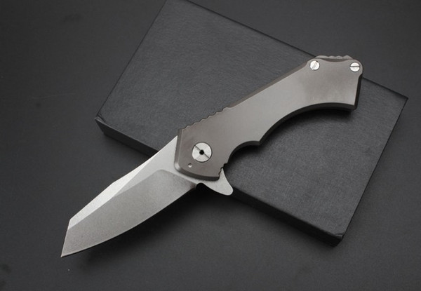Hot High-End Titan Griff Axt Messer (Nr. 2) hochwertige Überlebens Camping Jagdmesser Klappmesser
