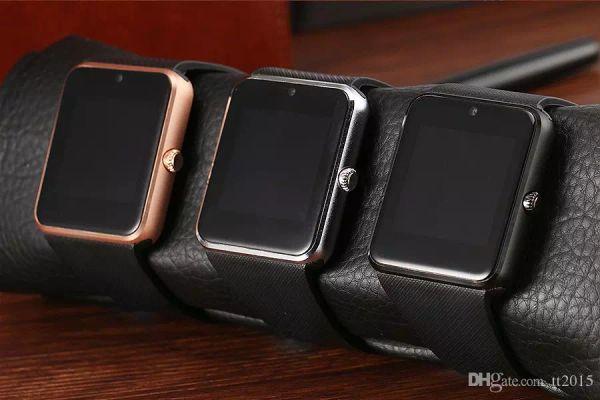 Smart watch relógio sincronização notifier apoio sim tf cartão bluetooth smartwatch para apple android phone