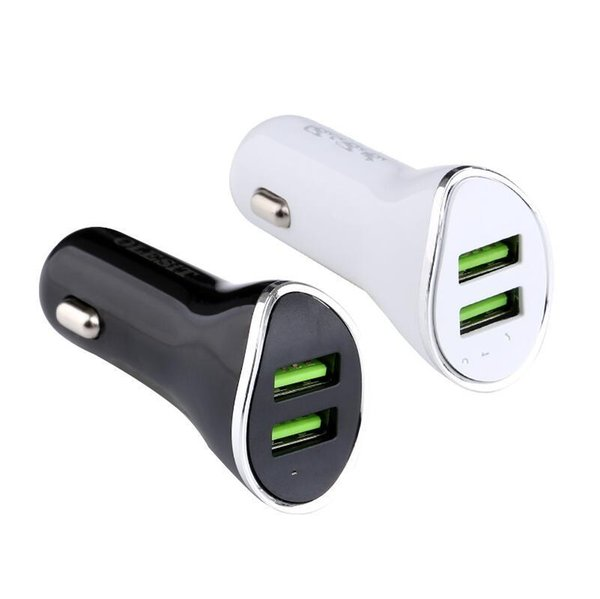 2018 newest horse design metal ring 2.1A dual port fast car charger for iphone samsung huawei mobile