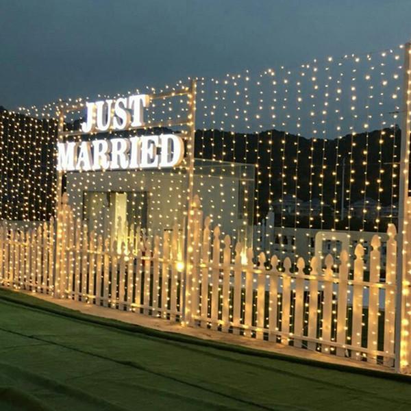 La decorazione multifunzionale di Natale degli ornamenti di goccia 10m ha condotto l'illuminazione impermeabile per le luci leggiadramente della corda del matrimonio romantico di nozze