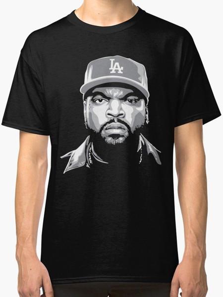 Ice Cube мужская футболка черный шею лучшие продажи мужской натуральный хлопок рубашка топ TEE с коротким рукавом мужчины Майка топы лето