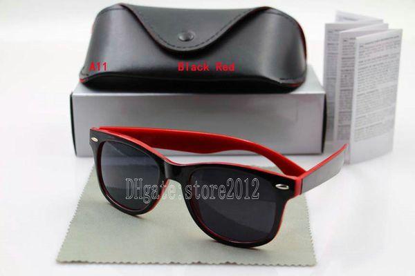 black red frame black lens
