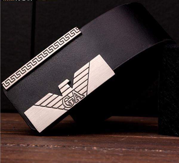 Оптовые продажи горячих ремней для мужчин и женщин дизайнер гладкая пряжка PU кожаные ремни для мужчин Luxury Belt male ceinture