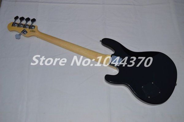 Wholesale 5 strings bass Black Music bass stingray electric bass HOT free shipping2017
