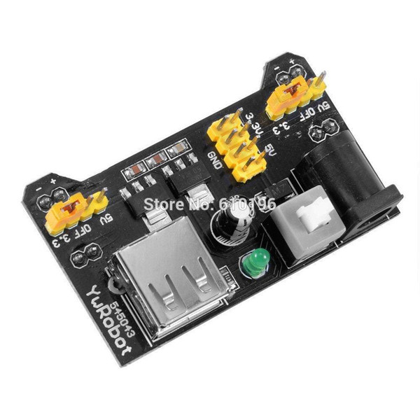 102 Breadboard-Netzteilmodul 3.3V 5V Für Arduino Solderless Breadboard Voltage nützlich