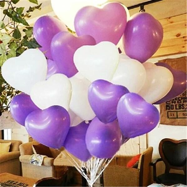 купить оптом сердце воздушные шары латексные воздушные шары декоративные воздушные шары для свадьбы выражения дня святого валентина украшение на день
