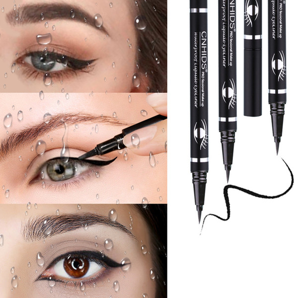 2018 New Durable Waterproof Beauty Makeup Cosmetic Eye Liner Pencil Black Liquid Eyeliner Pen Wholesale Gift Dropshipping