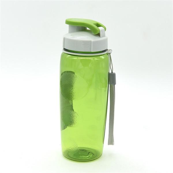 Бутылки с водой большой емкости путешествия открытый портативный Спорт бутылки многоцветные пластиковые чашки для студентов не токсичен 5 7bz ii