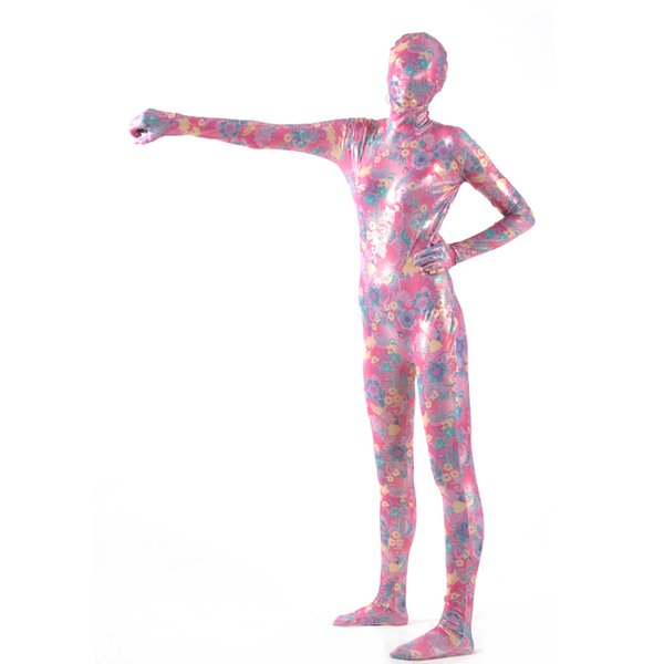 (MZS033) Multicolor Shiny Metallic Strumpfhosen Classic Halloween Kostüme Unisex Fetisch Zentai Anzüge