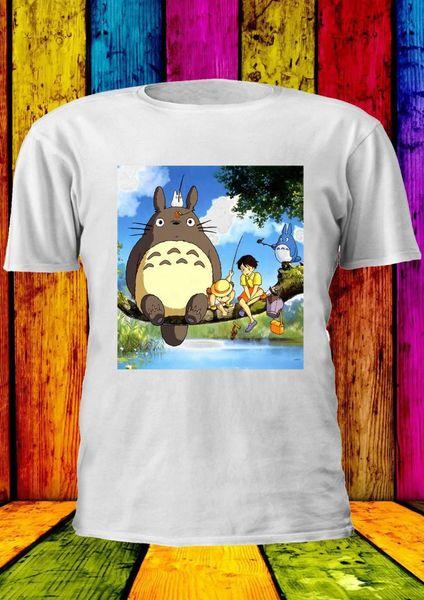 T-shirt Totoro My Neighbor Tortoro Studio Vest new Top Uomo Donna Unisex