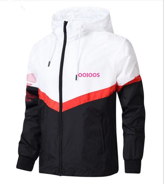 Top-marke Designer Jacke 2018Fashion Flut Herren Jacke Mantel Buchstaben Gedruckt Luxus Herren Hoodie Casual Sport Outdoor Windschutz Kleidung L-4XL
