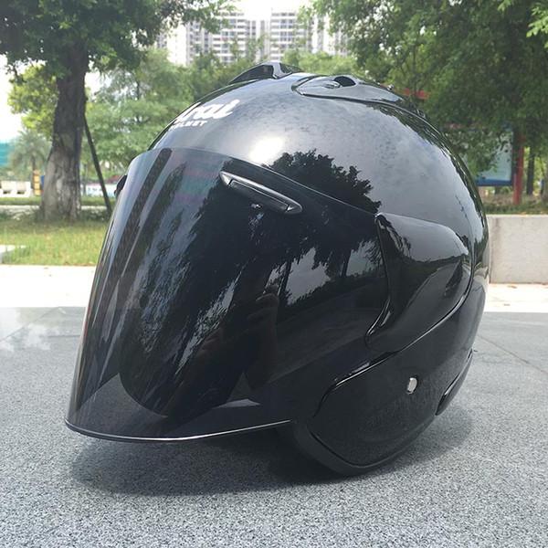 2018 Top quente ARAI capacete da motocicleta capacete metade capacete aberto capacete rosto casque motocross TAMANHO: M L XL XXL ,, e