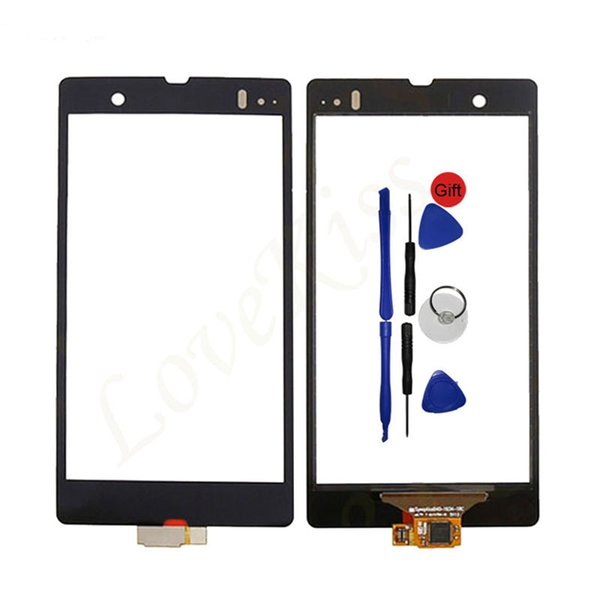Digitizer Panel Touch Screen For Sony Xperia Z C6602 L36H C6603 Touchscreen Sensor Front Glass Replacement Outer Lens Tools