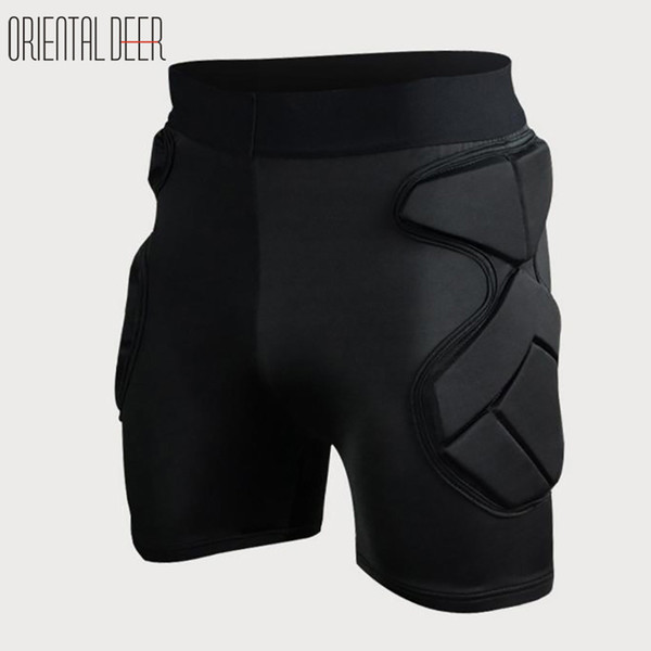 Soccer Goalkeeper Sports Safety Elbow Knee Protector Sponge EVA Padded Defend Pants Anti-collision Shorts Shirts Chest Protector