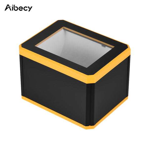 top popular Aibecy Omnidiretional Barcode Scanner Bar Code Scanner Platform 1D 2D QR Bar Code Reader Presentation with USB Interface 2019