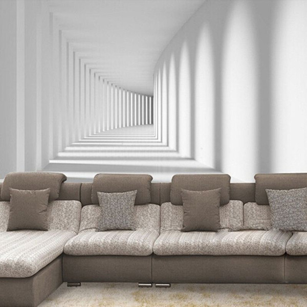 Großhandel Moderne Einfache Innenarchitektur 3d Stereo Raum Foto