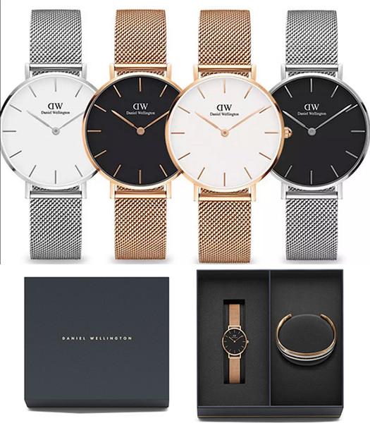 High quality AAA new fashion Daniel couple men's women's watches 32MM 40MM business casual quartz luxury brand watch