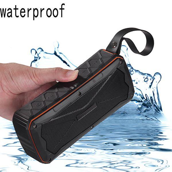 New IP66 Wireless Bluetooth Speakers Outdoor Portable Waterproof Bluetooth Speaker Support TF Card Hands-free 20W Audio 4500mAh Power Bank