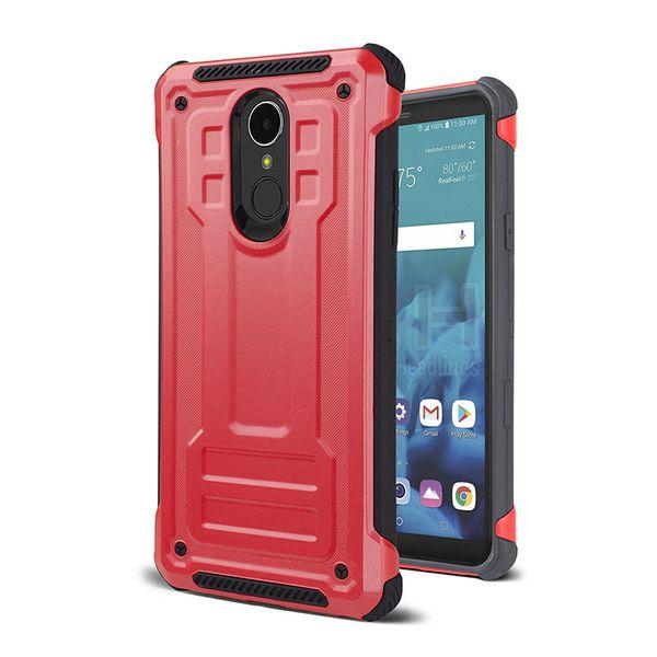Rüstung Neue Handyhülle für Samsung Galaxy J7 2018 J3 2018 Motorola MOTO E5 spielen E5 plus TPU PC Rückseite Shell
