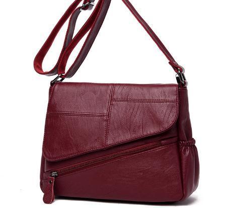 Verão Novo Feminino Messenger Bags Feminina Bolsa De Couro De Luxo Bolsas Mulheres Designer 2018 Principal Senhoras Bolsa de Ombro