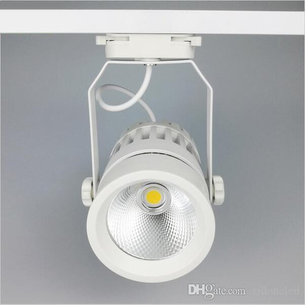 low cost 7c4a5 fcbcd 2017 Led Track Lights 30w Cob 130 140lm/W Moving Head Modern Wall Rail  Light Equal 300w Halogen Lamps For Clothes Shop Shoes Store From ...