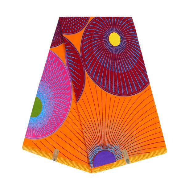 6 yarde Hollandais di alta qualità del tessuto della cera del cotone africano della cera stampa tessuto Ankara con il migliore prezzo WB-145