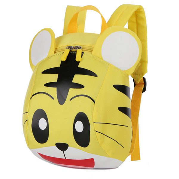 Cartoon 3D Tiger School Bags For Girls Boys Cute Toddler Backpack Schoolbag Baby Kindergarten Preschool Backpacks Kids