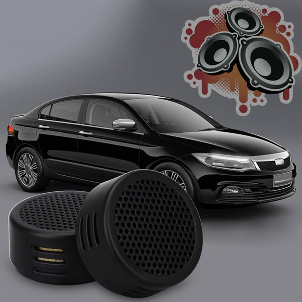 Universal High Efficiency Mini Dome Tweeter Loudspeaker 2x 500W Loud Speaker Super Power Audio Sound Klaxon Tone For Car