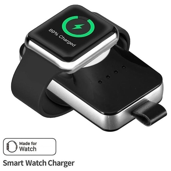 New Wireless Charger Powerbank For iWatch Smart Watch Portable Magnetic Charger Cord Power Bank For iWatch Charging Cable with Retail Box