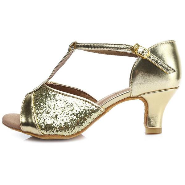 Gold 5cm Heel