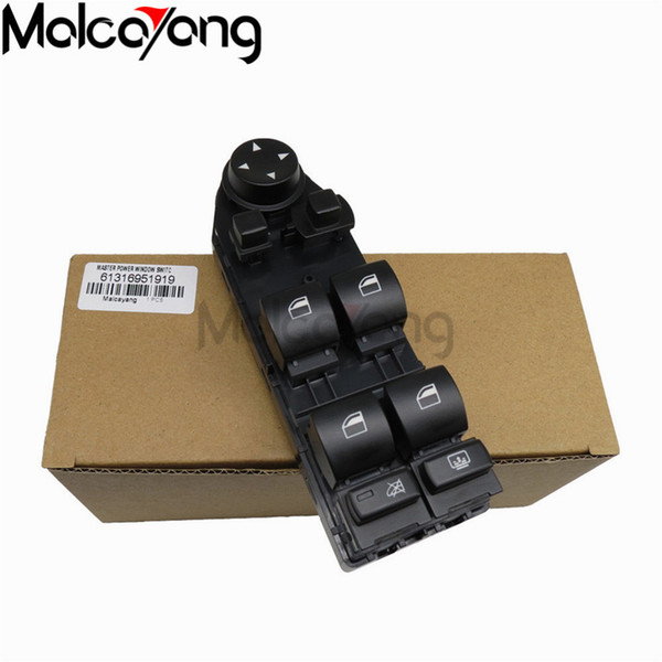 Car Accessories Driver WIndow Lifter 61316951919 61316951920 For BMW E60 E61 5 series NEW Mirror Switch Control Unit .