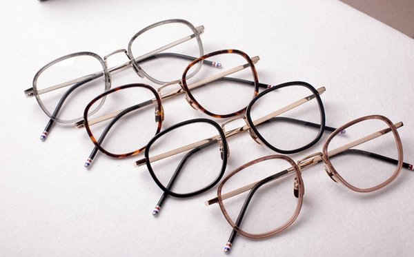 Brand Retro Myopia Glasses Frames Vintage Eyeglasses Frames for Men Women Optical Glasses Spectacle Frame With Clear Lens Come with Package