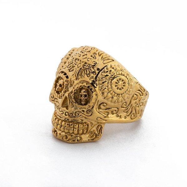 Esqueleto de ouro