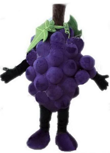 2018 Hot sale EVA Material Grapes Super grape Mascot Costumes Crayon Cartoon Apparel Birthday party Masquerade
