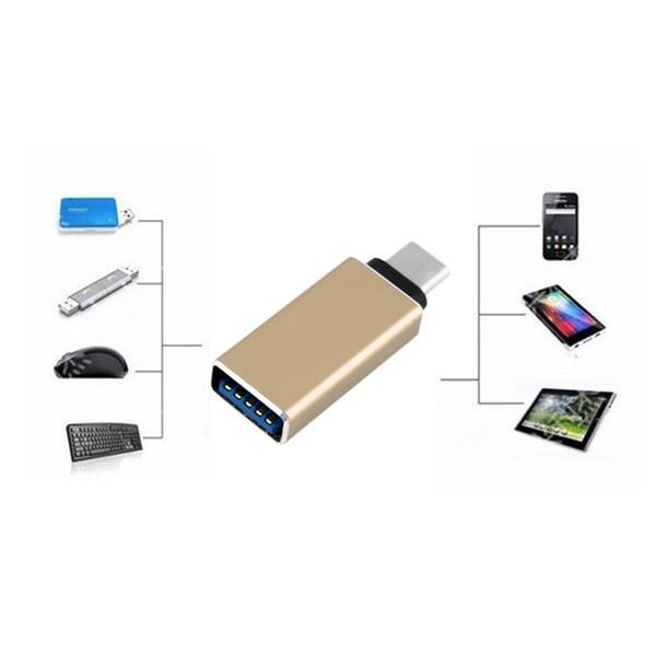 Großhandels-neue 5 Farben USB 3.1 Art C-Mann zu OTG Daten-Daten-Ladegerät-Adapter-Kabel-Verbindungsstück-Konverter für Tablette-Handy-Großverkauf