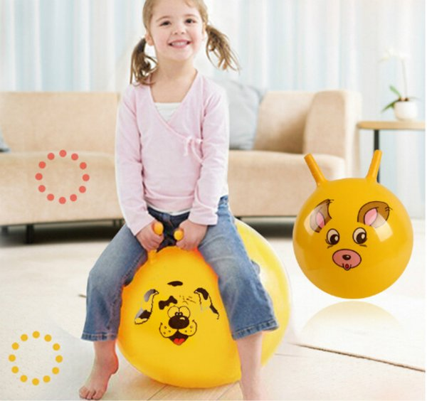 Top Sale Inflatable Toys PVC Material Bouncing Balance Ball 10' Thickened Inflatable Massage Jumping Toys for Kids Health Care