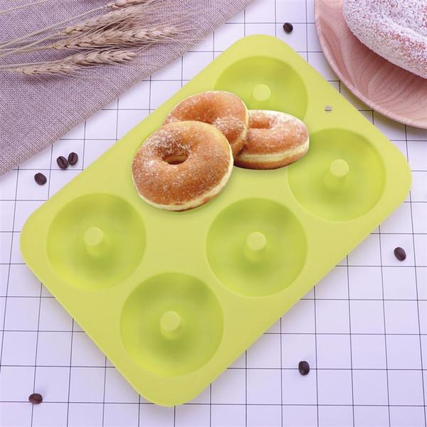 7 Cavité silicone Bun//Muffin Moule-Antiadhésif Cuisson Plateau de cuisson gâteau moule