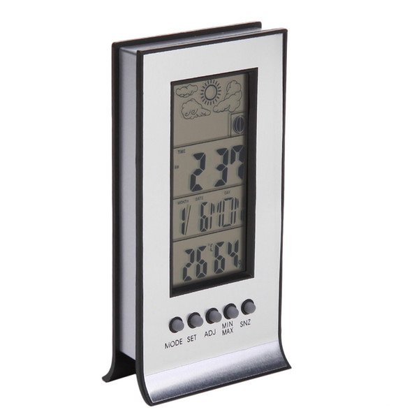 Wireless Weather Station with Wireless Sensors Meteo Station Thermometer Hygrometer Alarm Clock Calendar Temperature Records