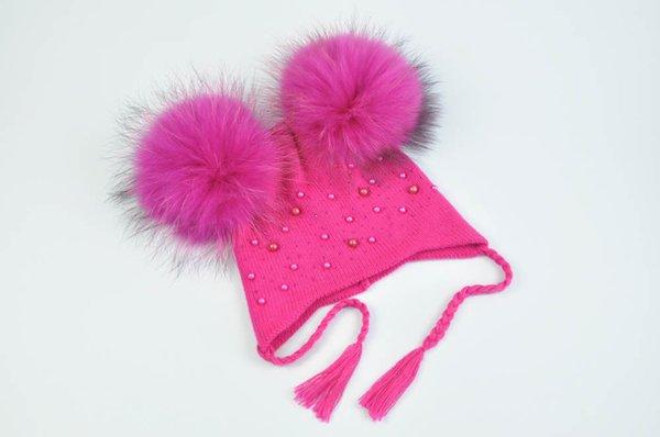 Hot pink match fur